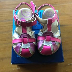 Stride Rite Summertime Multi-colored Mary Janes